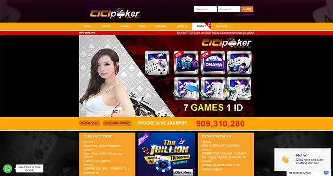 Cicipoker Situs IDN Poker Online Resmi