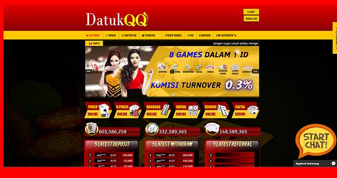 DatukQQ Situs PokerQQ Online